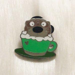 🔮 5/$25 Zootopia Mr. Otterman Latte Pin